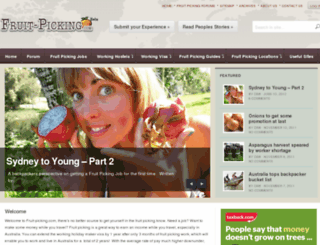 fruit-picking.com screenshot