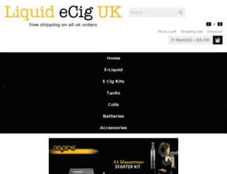 fruitecigs.co.uk screenshot