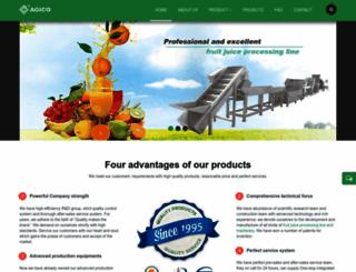 fruitjuicemachinery.com screenshot