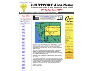 fruitportareanews.com screenshot