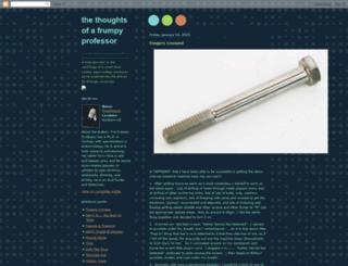 frumpyprofessor.blogspot.com screenshot