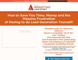 frustrationfreemarketing.com.au screenshot