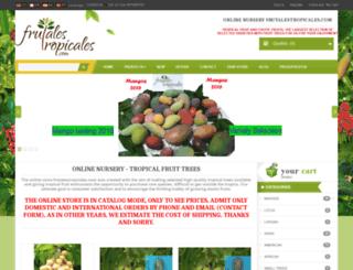 frutalestropicales.com screenshot