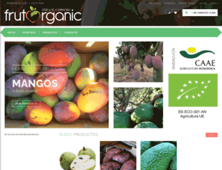 frutorganic.com screenshot