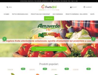 fruttaweb.com screenshot
