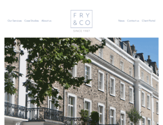 fry.co.uk screenshot