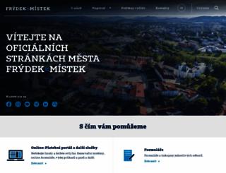 frydekmistek.cz screenshot
