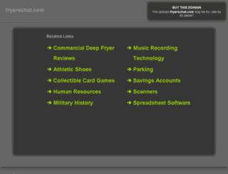 fryerschat.com screenshot