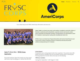 frysccorps.com screenshot