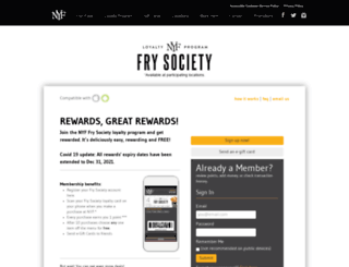 frysociety.newyorkfries.com screenshot