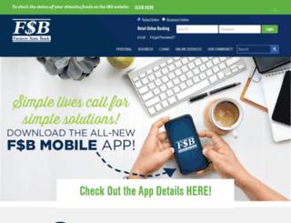 fsbbanks.com screenshot