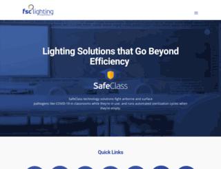 fsclighting.com screenshot
