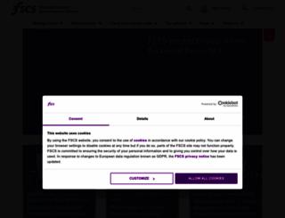 fscs.org.uk screenshot