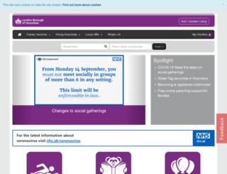 fsd.hounslow.gov.uk screenshot