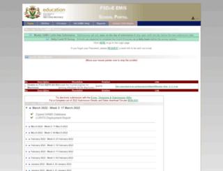 fsdoe.fs.gov.za screenshot