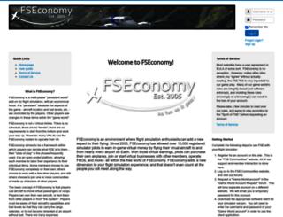 fseconomy.net screenshot