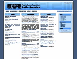 fsfla.org screenshot