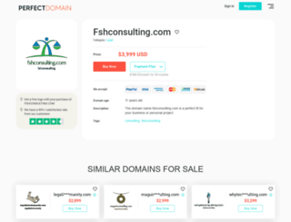 fshconsulting.com screenshot
