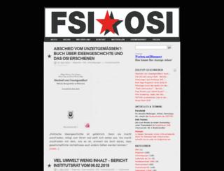 fsiosi.blogsport.de screenshot