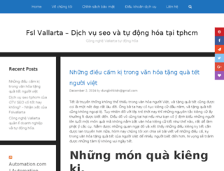 fslvallarta.org screenshot