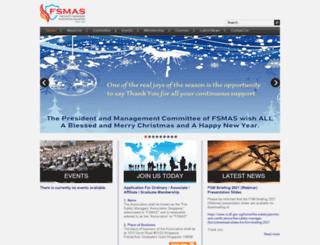 fsmas.org.sg screenshot