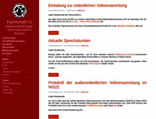 fsmpi.rwth-aachen.de screenshot