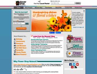 fsnmail.flowershopnetwork.com screenshot