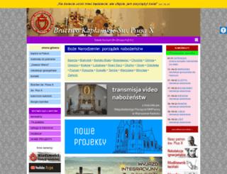fsspx.pl screenshot