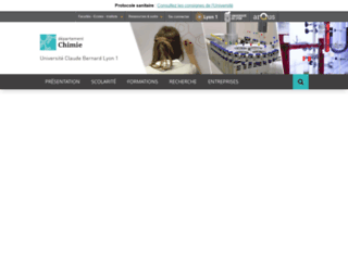 fst-chimie.univ-lyon1.fr screenshot