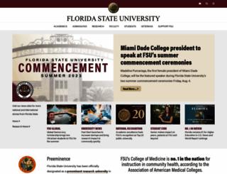 fsu.edu screenshot