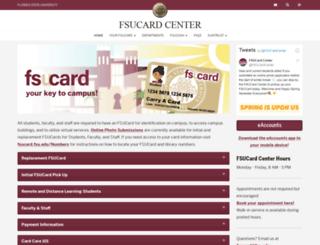 fsucard.fsu.edu screenshot