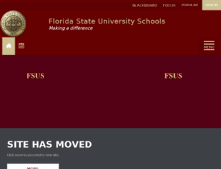 fsus.schoolwires.net screenshot