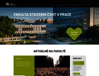fsv.cvut.cz screenshot