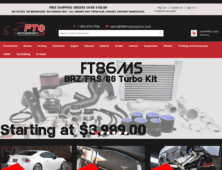 ft86motorsports.com screenshot