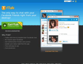 ftalkmessenger.com screenshot