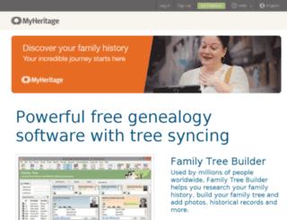ftb.familytreebuilder.com screenshot