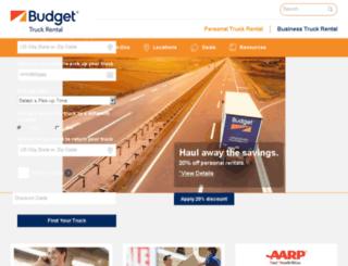 ftc2.budgettruck.com screenshot