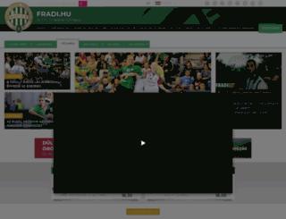 ftckezilabda.hu screenshot