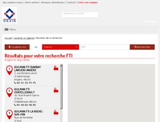 fti-dexis.com screenshot