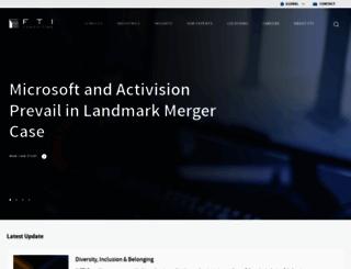 fticonsulting.com screenshot