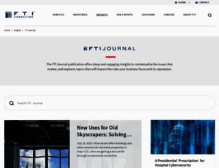 ftijournal.com screenshot