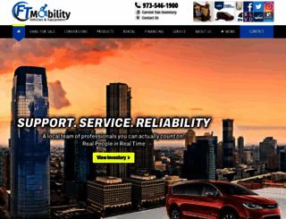 ftmobility.mobilitypluscrm.com screenshot