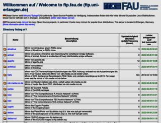 ftp.fau.de screenshot