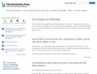 ftp.hudsonalpha.org screenshot
