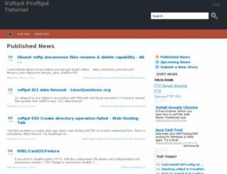 ftp.javaenum.org screenshot