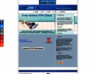 ftplive.com screenshot