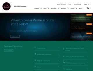 ftse.co.uk screenshot