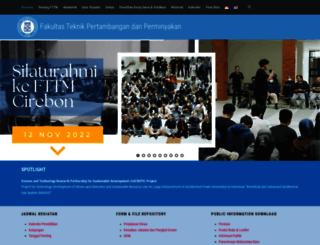 fttm.itb.ac.id screenshot