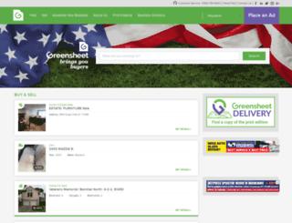 ftworth.thegreensheet.com screenshot