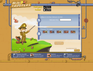 fu98ma.minitroopers.com screenshot